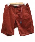 GRAMICCI(グラミチ)の古着「ショートパンツ」|ボルドー