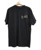RAF SIMONS×FRED PERRY(ラフシモンズ×フレッドペリー)の古着「Tシャツ」|ブラック
