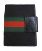 GUCCI(グッチ)の古着「手帳カバー」|ブラック