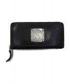 PAILOT RIVER(パイロットリバー)の古着「ラウンドファスナー長財布」|ブラック