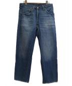 LEVI'S VINTAGE CLOTHING(リーバイスヴィンテージクロージング)の古着「501XX 再構築デニムパンツ」 ブルー