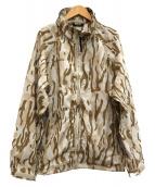 Columbia(コロンビア)の古着「パターンドトレックテックジャケット」|ベージュ×ブラウン