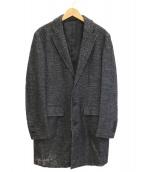 JOSEPH HOMME(ジョセフオム)の古着「ウールテーラードチェスターコート」|グレー