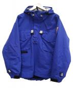INTERBREED(インターブリード)の古着「P/Oマウンテンパーカー」|ブルー
