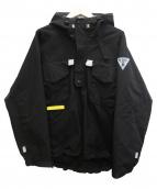 INTERBREED(インターブリード)の古着「P/Oマウンテンパーカー」|ブラック
