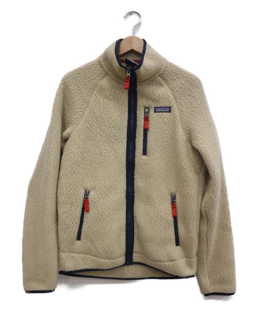 Patagonia(パタゴニア)Patagonia (パタゴニア) レトロパイルジャケット ベージュ サイズ:Sの古着・服飾アイテム