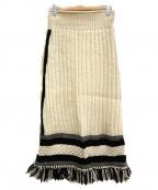 STAIR(ステア)の古着「ロービングスカート」|ホワイト
