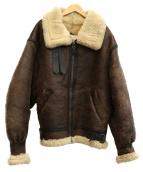 AVIREX(アビレックス)の古着「B-3タイプフライトジャケット」|ブラウン