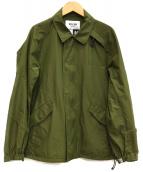 WISLOM(ウィスロム)の古着「ジップアップワークジャケット」|カーキ