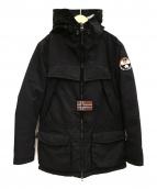 NAPAPIJRI(ナパピリ)の古着「中綿ジャケット」|ブラック