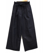 GEN IZAWA(ゲンイザワ)の古着「ワイドパンツ」|インディゴ