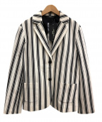 MAX MARA WEEK END LINE(マックスマーラ ウイークエンドライン)の古着「テーラードジャケット」|ホワイト×ネイビー