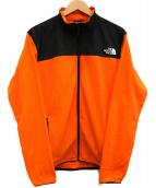 THE NORTH FACE(ザノースフェイス)の古着「フリースジャケット」|オレンジ