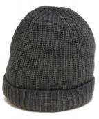 CRUCIANI(クルチアーニ)の古着「ウールニット帽」|グレー