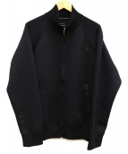THE NORTH FACE(ザノースフェイス)の古着「スウェットトラックジャケット」|ブラック