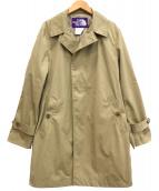 THE NORTHFACE PURPLELABEL(ザノースフェイスパープルレーベル)の古着「ステンカラーコート」|ベージュ