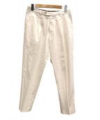 BERWICH(ベルウィッチ)の古着「スラックスパンツ」|ホワイト