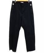 OAMC(オーエーエムシー)の古着「デザインワイドパンツ」|ブラック