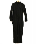 maturely(マチュアリー)の古着「ジャンプスーツ」|ブラック