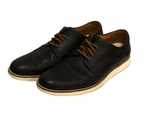 COLE HAAN(コールハーン)COLE HAAN (コールハーン) レザーシューズ ブラウン サイズ:10M C24925の古着・服飾アイテム