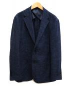 EDIFICE(エディフィス)の古着「テーラードジャケット」 ネイビー