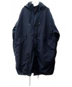 TEATORA(テアトラ)の古着「パッカブルスーベニアハンターコート」|ネイビー