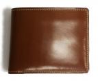GANZO(ガンゾ)の古着「コードバン2つ折り財布」|ブラウン