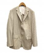 The FRANKLIN TAILORED(フランクリンテーラード)の古着「テーラードジャケット」|ホワイト×ベージュ