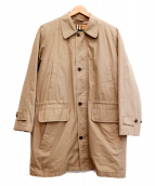 Burberrys(バーバリーズ)の古着「ステンカラーコート」|ベージュ