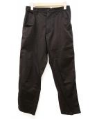 COMME des GARCONS(コムデギャルソン)の古着「ストレッチテーパードパンツ」|ブラック