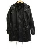 EDIFICE(エディフィス)の古着「ナイロンモッズコート」 ブラック