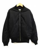 BEAUTY&YOUTH(ビューティーアンドユース)の古着「シンサレートMA-1ジャケット」|ブラック