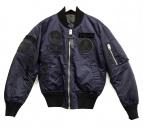 COACH(コーチ)の古着「MA-1ジャケット」|ネイビー