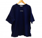 UN3D.(アンスリード)の古着「ロゴナイロンTシャツ」|ネイビー