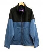 THE NORTHFACE PURPLELABEL(ザノースフェイスパープルレーベル)の古着「マウンテンフィールドジャケット」|ブラック×インディゴ