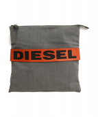DIESEL(ディーゼル)の古着「クラッチバッグ」|グレー