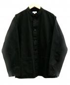 STEVEN ALAN(スティーヴンアラン)の古着「オーガニックカバーオール」|ブラック