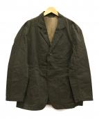 Needles Sportswear(ニードルズスポーツウェア)の古着「ワックスコーティング3Bジャケット」|カーキ
