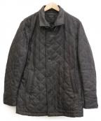 MICHEL KLEIN HOMME(ミッシェルクランオム)の古着「キルティングコート」 グレー