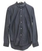 The FRANKLIN TAILORED(フランクリンテーラード)の古着「コットンシャツ」|ネイビー