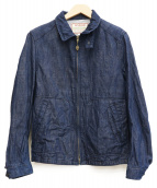 BLUE BLUE× McGREGOR(ブルーブルー×マクレガー)の古着「コラボドリズラージャケット」|インディゴ