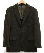 BROOKS BROTHERS(ブルックスブラザーズ)の古着「ハリスツイードテーラードジャケット」|オリーブ