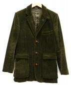 POLO RALPH LAUREN(ポロラルフローレン)の古着「コーデュロイ3Bジャケット」|カーキ