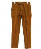 INCOTEX(インコテックス)の古着「コーデュロイスラックス」 ブラウン