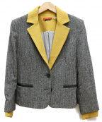 alice+olivia(アリスアンドオリビア)の古着「ウールジャケット」 グレー