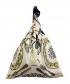 manipuri(マニプリ)の古着「スカーフハンドバッグ」|ベージュ