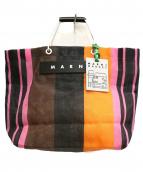 MARNI(マルニ)の古着「トートバッグ」|マルチピンク