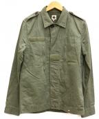 pretty green(プリティーグリーン)の古着「ミリタリージャケット」|カーキ