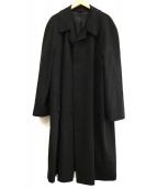 DURBAN OPUS(ダーバンオーパス)の古着「カシミヤステンカラーコート」|グレー