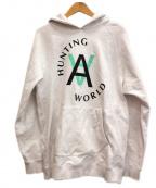 HUNTING WORLD(ハンティングワールド)の古着「プルオーバーパーカー」 ホワイト